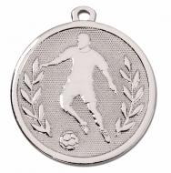 GALAXY Footballer Medal Silver 45mm