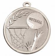 GALAXY Netball Medal Silver 45mm