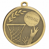 GALAXY Netball Medal Bronze 45mm