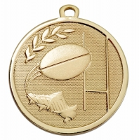 GALAXY Rugby Medal Gold 45mm