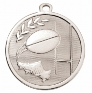 GALAXY Rugby Medal Silver 45mm