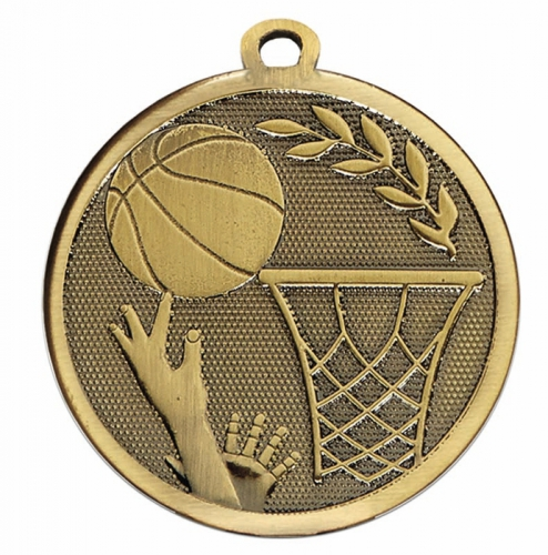 GALAXY Basketball Medal Bronze 45mm
