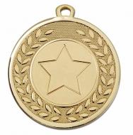 Galaxy 1 Gold Centre Medal 45mm