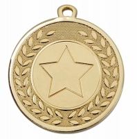 Galaxy 1 Gold Centre Medal 45mm