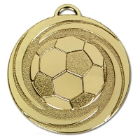 TARGET Twirl Football Medal Gold 50mm