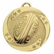 TARGET Rugby Stars Medal Gold 50mm