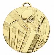 TARGET Cricket Medal Gold 50mm