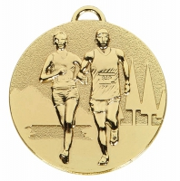 TARGET Cross Country Medal Gold 50mm