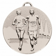 TARGET Cross Country Medal Silver 50mm