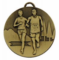 TARGET Cross Country Medal Bronze 50mm
