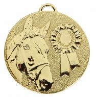 TARGET Horse Rosette Medal Gold 50mm