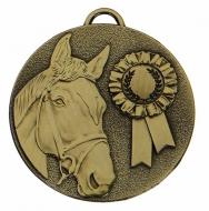 TARGET Horse Rosette Medal Bronze 50mm