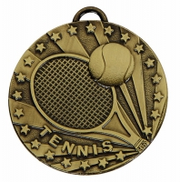 TARGET Tennis Medal Bronze 50mm