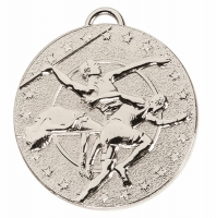 TARGET Track & Field Medal Silver 50mm