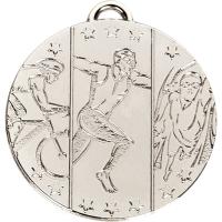 TARGET Triathlon Medal Silver 50mm