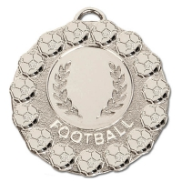 FIESTA Football Medal Silver 50mm