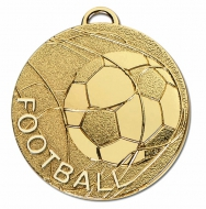 CYCLONE Football Medal Gold 50mm