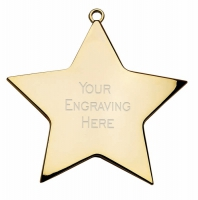 Star Achievement54 Medal Gold 54mm