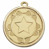 GALAXY Tudor Rose Medal Gold 45mm