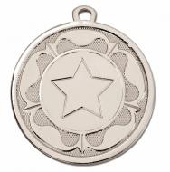 GALAXY Tudor Rose Medal Silver 45mm