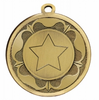GALAXY Tudor Rose Medal Bronze 45mm