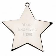 Star Achievement68 Medal Silver 68mm