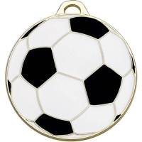 Classic Football50 Medal Gold 50mm