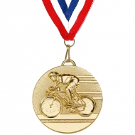 Target50 Cycling Medal with
