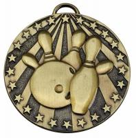Target50 Ten Pin Medal Award 2 Inch (50mm) Diameter : New 2020