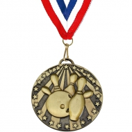 Target50 Ten Pin Medal with
