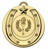 Target50 Horse Shoe Medal - Gold - 50mm- New 2018