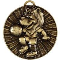 Lenny the Lion Medal - Ant Gold - 50mm- New 2018