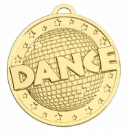 Target50 Dance Medal - Gold - 50mm- New 2018