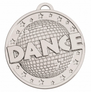 Target50 Dance Medal - Silver - 50mm- New 2018
