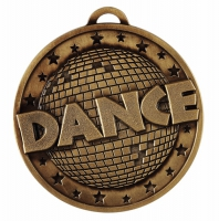 Target50 Dance Medal - Bronze - 50mm- New 2018