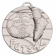 Target50 Futsal Medal - Silver - 50mm diameter- New 2018