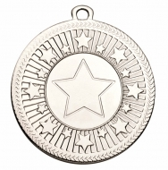VF Centre Stars Medal - Silver - 50mm diameter- New 2018