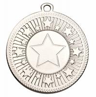 VF Centre Stars Medal - Silver - 50mm diameter- New 2018