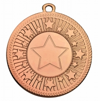 VF Centre Stars Medal - Bronze - 50mm diameter- New 2018