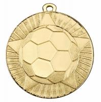 State Star 60mm Football Medal 2 3 8 Inch (60mm) Diameter : New 2019