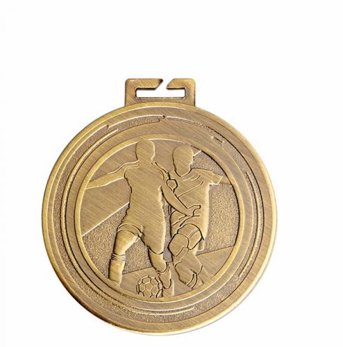 Aura Football Medal 2 Inch (50mm) Diameter : New 2019