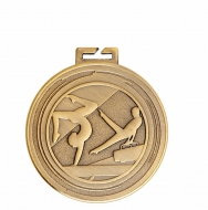 Aura Unisex Gymnastics Medal 2 Inch (50mm) Diameter : New 2019