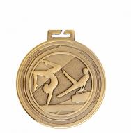 Aura Unisex Gymnastics Medal 2 Inch (50mm) Diameter : New 2019
