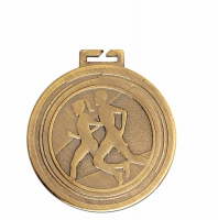 Aura Unisex Running Medal 2 Inch (50mm) Diameter : New 2019