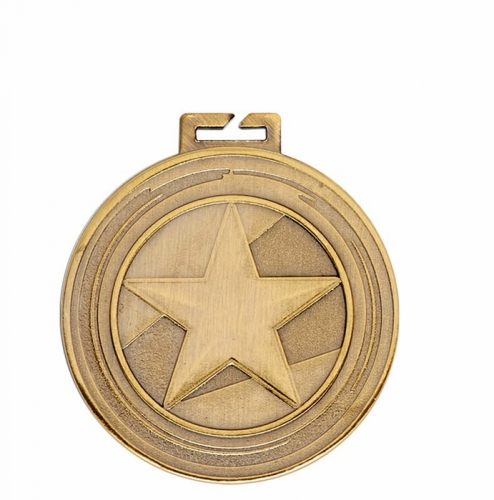 Aura Star Medal 2 Inch (50mm) Diameter : New 2019