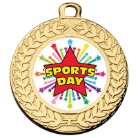 Contour 40 Sports Day Medal 1 9 16 Inch (40mm) Diameter : New 2019