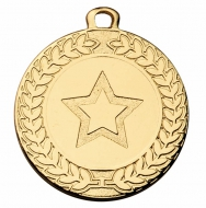 Contour 40 Medal 1 9 16 Inch (40mm) Diameter : New 2019