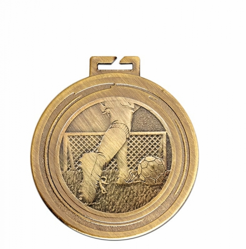 Aura Football Legs Medal 2 Inch (50mm) Diameter : New 2019