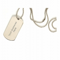 DogTag Silver 51 x 28mm