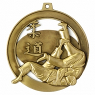 Halo Judo Personalised Medal 2.75 Inch (70mm) Diameter : New 2019